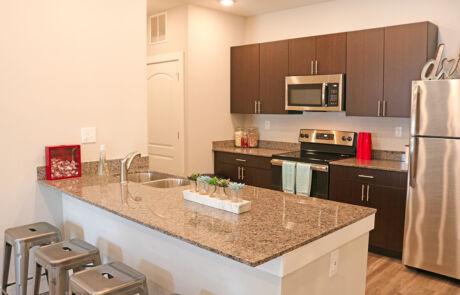The Quarters Bloomington Kitchen
