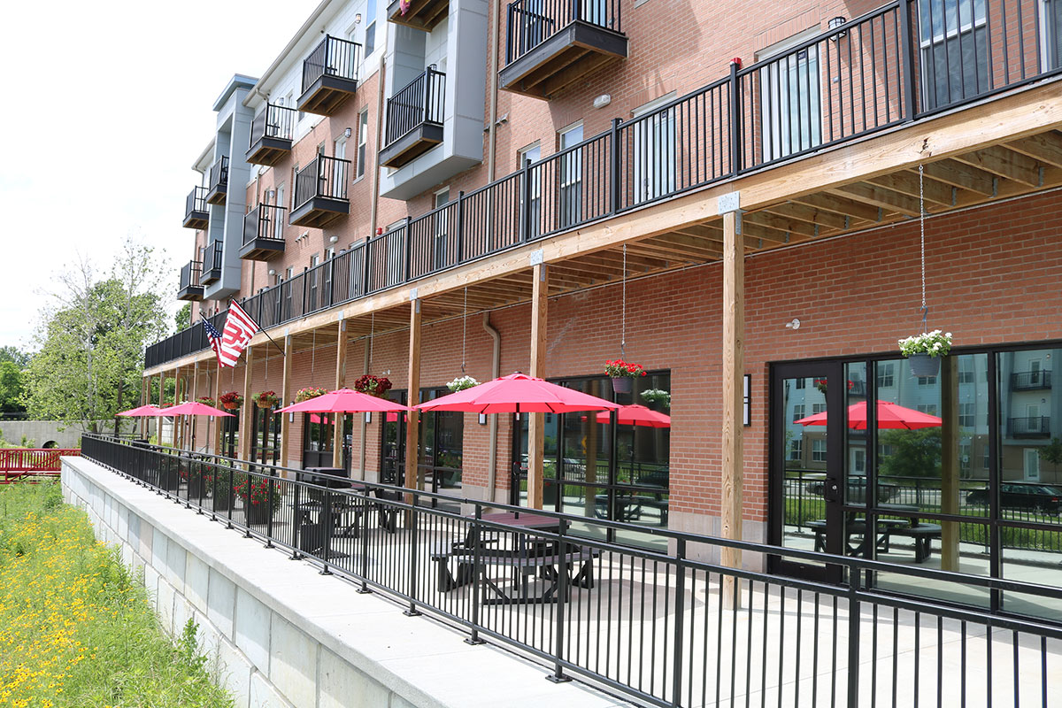 The Quarters Bloomington Outdoor Patio